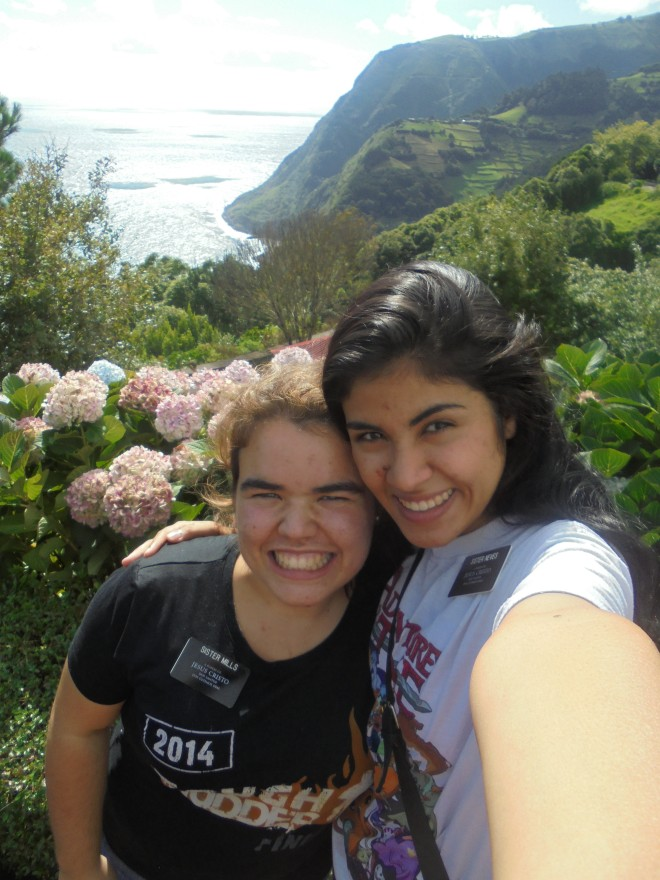 Sis. Neves and me.