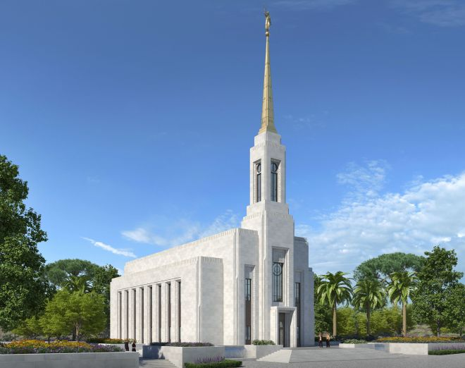 The Lisbon Portugal Temple.